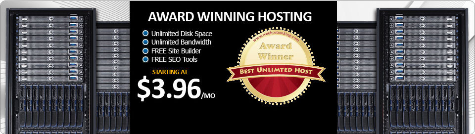 Award Winning Hosting